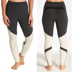 CALIA Limited Edition Onyx Heather Velvet Leggings